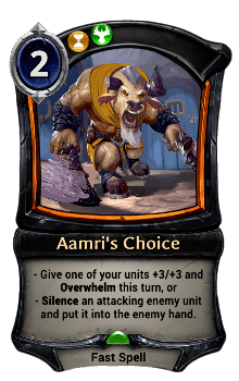 Aamri's Choice