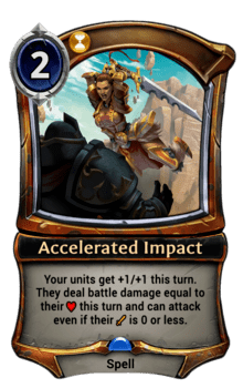 Accelerated Impact