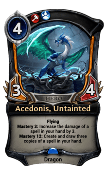 Acedonis, Untainted