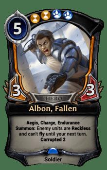 Albon, Fallen