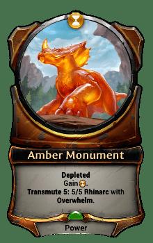 Amber Monument