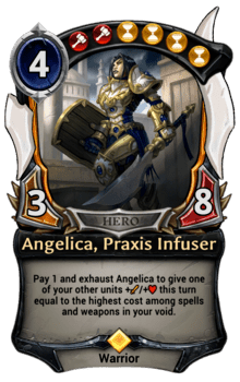 Angelica, Praxis Infuser