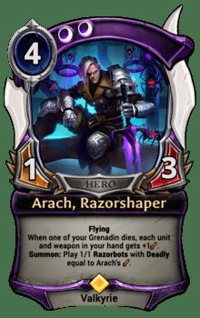 Arach, Razorshaper