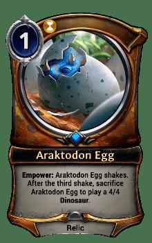 Araktodon Egg