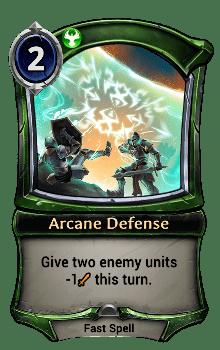 Arcane Defense