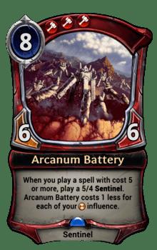 Arcanum Battery