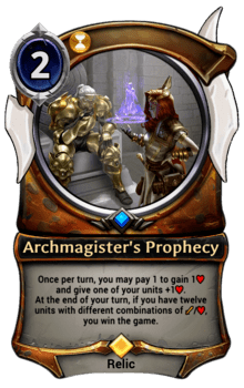 Archmagister's Prophecy