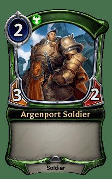Argenport Soldier