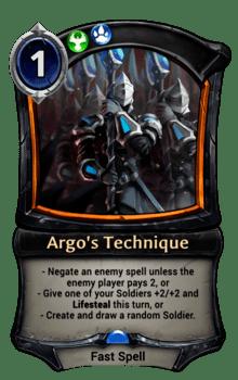 Argo's Technique