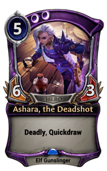 Ashara, the Deadshot