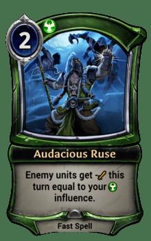 Audacious Ruse