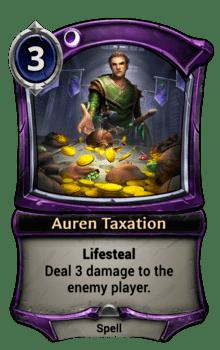 Auren Taxation