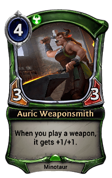 Auric Weaponsmith