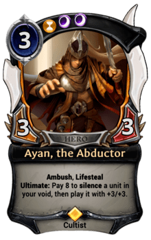 Ayan, the Abductor