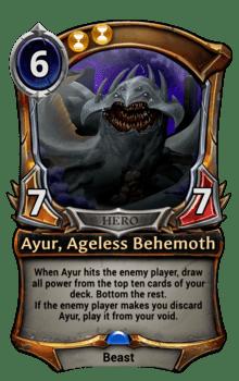 Ayur, Ageless Behemoth