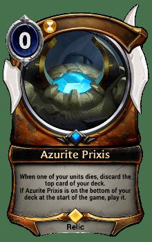 Azurite Prixis