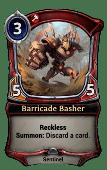 Barricade Basher