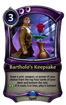 Bartholo's Keepsake