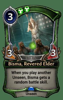 Bisma, Revered Elder