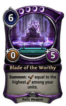 Blade of the Worthy