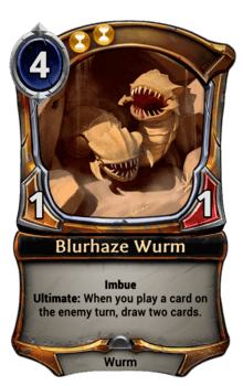Blurhaze Wurm