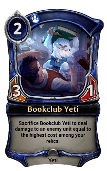 Bookclub Yeti