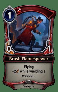 Brash Flamespewer