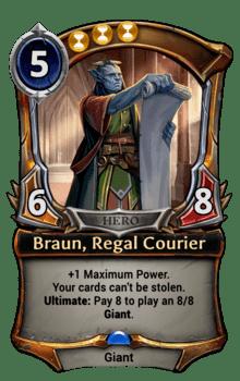 Braun, Regal Courier