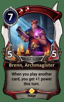 Brenn, Archmagister