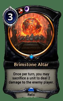 Brimstone Altar