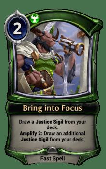 Bring into Focus