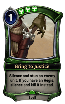 Bring to Justice
