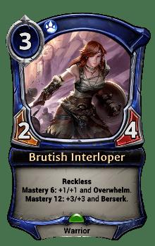 Brutish Interloper