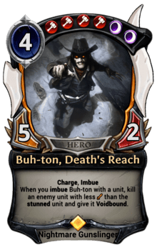 Buh-ton, Death's Reach