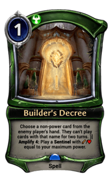 Builder's Decree