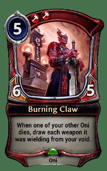 Burning Claw