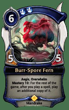 Burr-Spore Fern