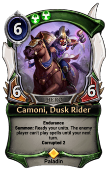 Camoni, Dusk Rider