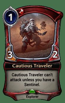 Cautious Traveler