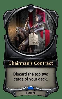 Chairman's Contract
