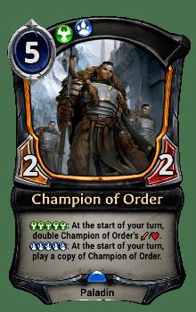 Champion of Order