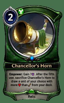Chancellor's Horn