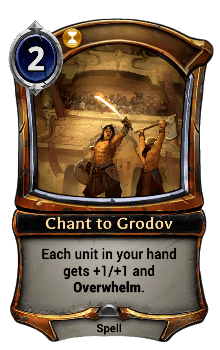 Chant to Grodov