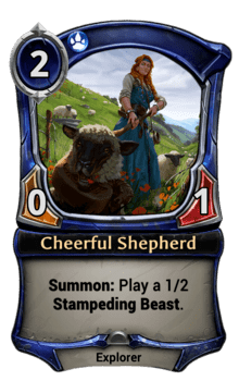 Cheerful Shepherd