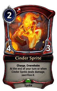 Cinder Sprite