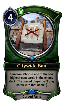 Citywide Ban