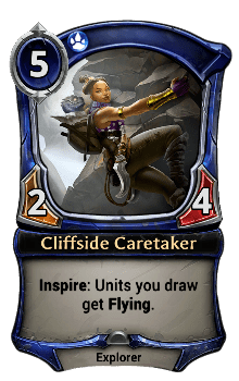 Cliffside Caretaker