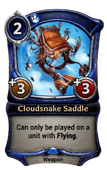Cloudsnake Saddle