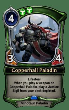 Copperhall Paladin