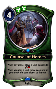 Counsel of Heroes